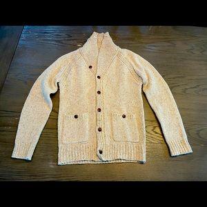 J. Crew men's cardigan sweater